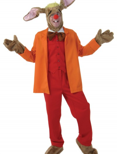 Plus Size Deluxe March Hare Costume, halloween costume (Plus Size Deluxe March Hare Costume)