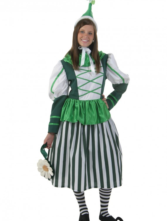 Plus Size Deluxe Munchkin Woman Costume, halloween costume (Plus Size Deluxe Munchkin Woman Costume)