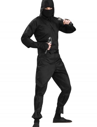 Plus Size Deluxe Ninja Costume, halloween costume (Plus Size Deluxe Ninja Costume)