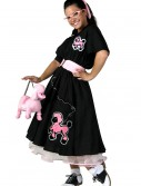 Plus Size Deluxe Poodle Skirt Costume, halloween costume (Plus Size Deluxe Poodle Skirt Costume)