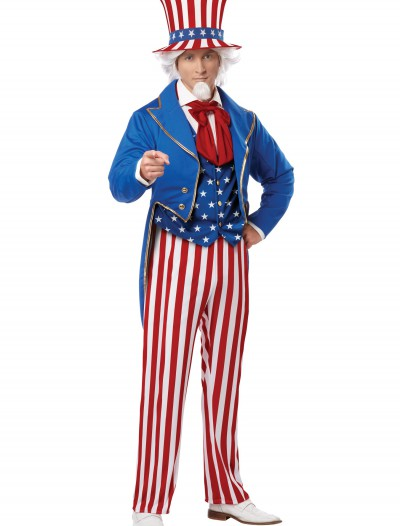 Plus Size Deluxe Uncle Sam Costume, halloween costume (Plus Size Deluxe Uncle Sam Costume)