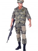 Plus Size Deluxe U.S. Army Ranger Costume, halloween costume (Plus Size Deluxe U.S. Army Ranger Costume)