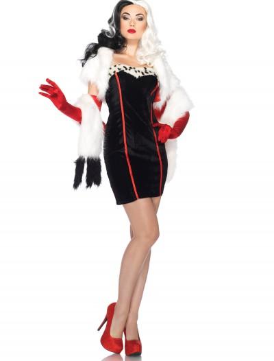 Plus Size Disney Cruella Costume, halloween costume (Plus Size Disney Cruella Costume)