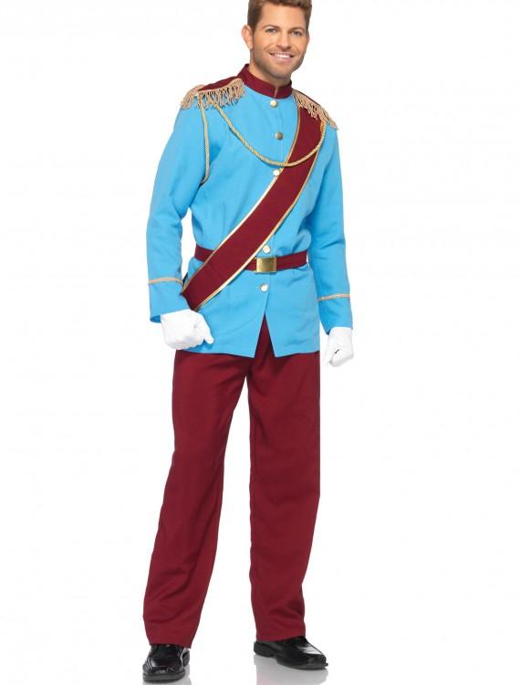 Plus Size Disney Prince Charming Costume, halloween costume (Plus Size Disney Prince Charming Costume)