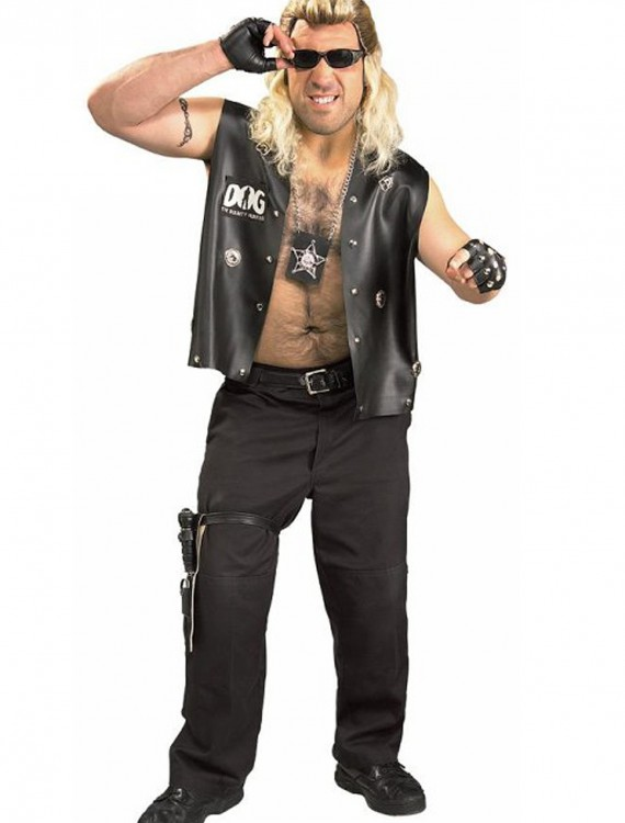 Plus Size Dog the Bounty Hunter Costume, halloween costume (Plus Size Dog the Bounty Hunter Costume)