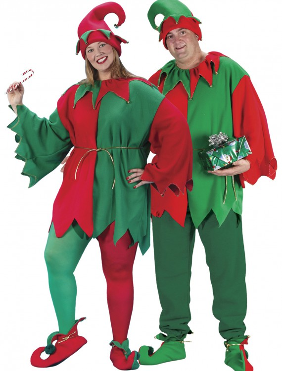 Plus Size Elf Costume, halloween costume (Plus Size Elf Costume)
