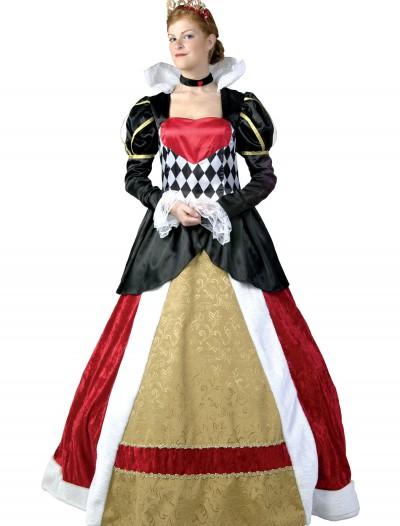 Plus Size Elite Queen of Hearts Costume, halloween costume (Plus Size Elite Queen of Hearts Costume)