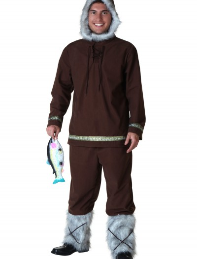 Plus Size Eskimo Boy Costume, halloween costume (Plus Size Eskimo Boy Costume)