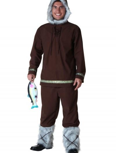 Plus Size Eskimo Boy Costume, halloween costume (Plus Size Eskimo Boy Costume)
