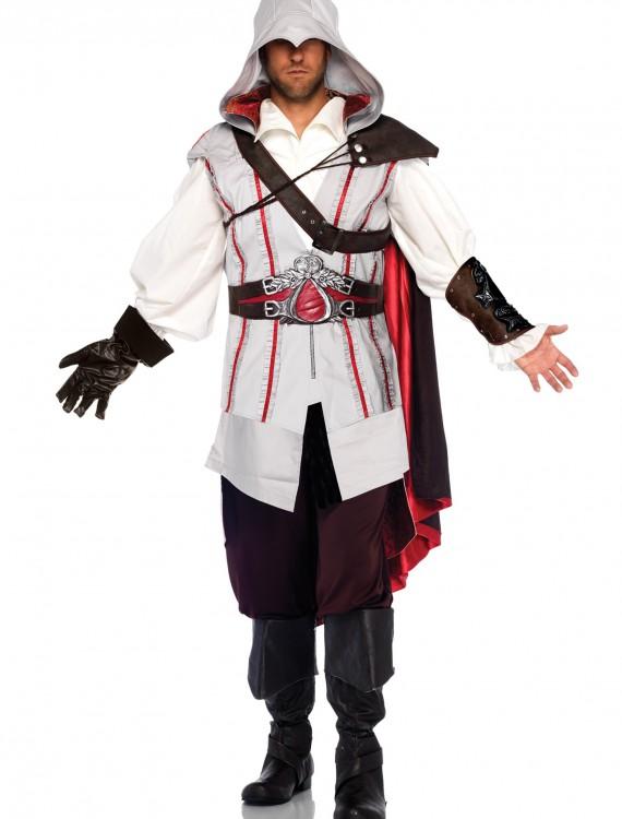 Plus Size Assassin's Creed Ezio Costume, halloween costume (Plus Size Assassin's Creed Ezio Costume)