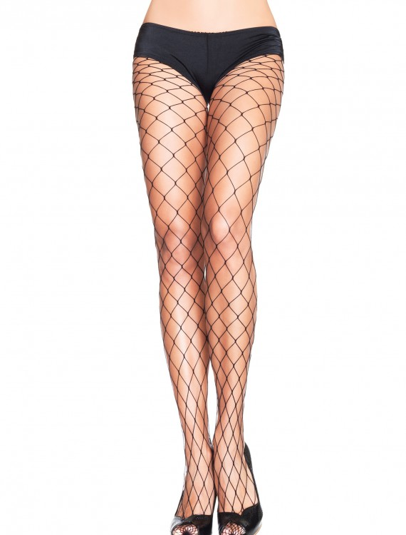 Plus Size Fence Net Pantyhose, halloween costume (Plus Size Fence Net Pantyhose)