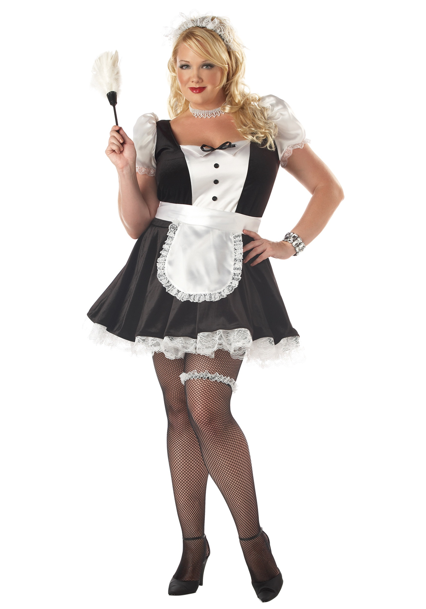Plus Size Fiona the French Maid Costume  sc 1 st  Halloween Costumes & Plus Size Fiona the French Maid Costume - Halloween Costumes