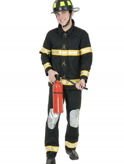 Plus Size Fireman Costume, halloween costume (Plus Size Fireman Costume)