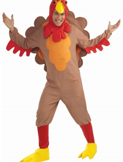 Plus Size Fleece Turkey Costume, halloween costume (Plus Size Fleece Turkey Costume)