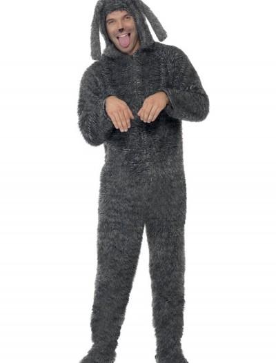 Plus Size Fluffy Dog Costume, halloween costume (Plus Size Fluffy Dog Costume)