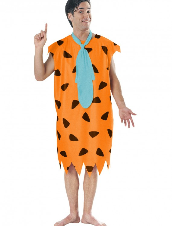 Plus Size Fred Flintstone Costume, halloween costume (Plus Size Fred Flintstone Costume)