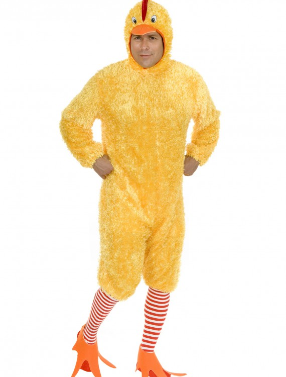 Plus Size Funky Chicken Costume, halloween costume (Plus Size Funky Chicken Costume)