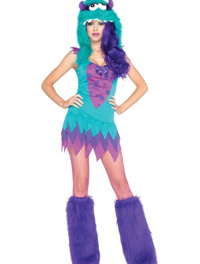 Plus Size Fuzzy Frankie Monster Costume, halloween costume (Plus Size Fuzzy Frankie Monster Costume)