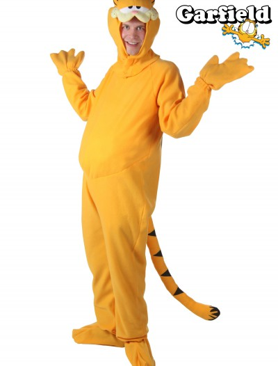 Plus Size Garfield Costume, halloween costume (Plus Size Garfield Costume)