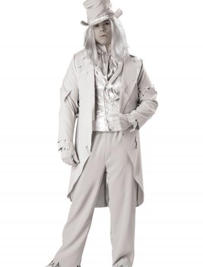 Plus Size Ghostly Gentleman Costume, halloween costume (Plus Size Ghostly Gentleman Costume)
