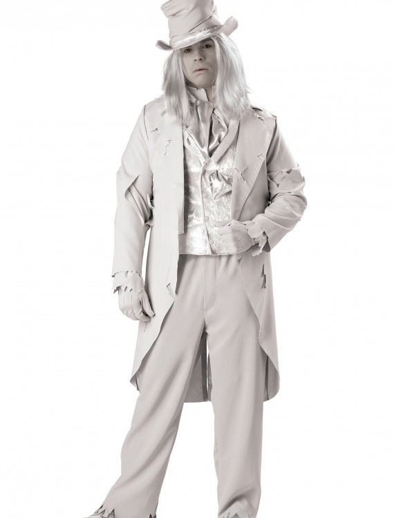 Plus Size Ghostly Gentleman Costume, halloween costume (Plus Size Ghostly Gentleman Costume)