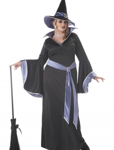 Plus Size Glamour Witch Incantasia Costume, halloween costume (Plus Size Glamour Witch Incantasia Costume)