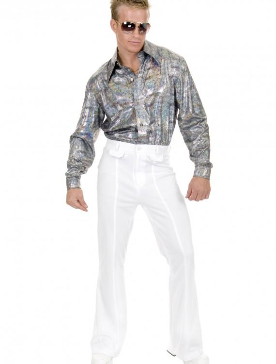 Plus Size Glitter Disco Shirt, halloween costume (Plus Size Glitter Disco Shirt)