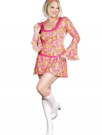 Plus Size Go Go Gorgeous Costume, halloween costume (Plus Size Go Go Gorgeous Costume)