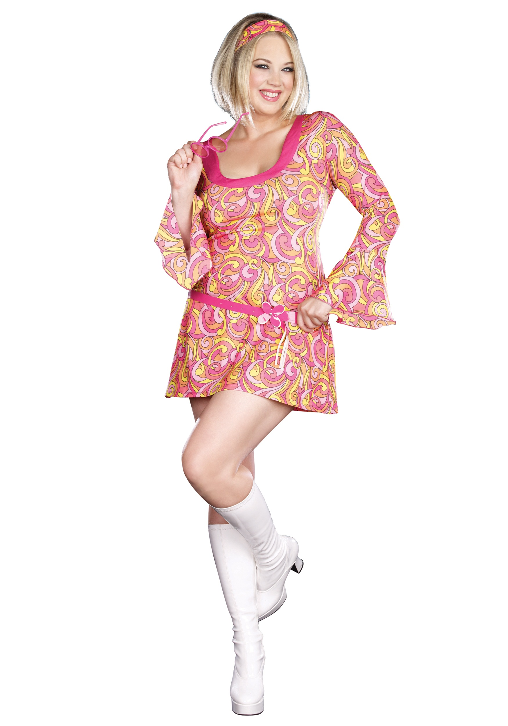 Plus Size Go Go Gorgeous Costume