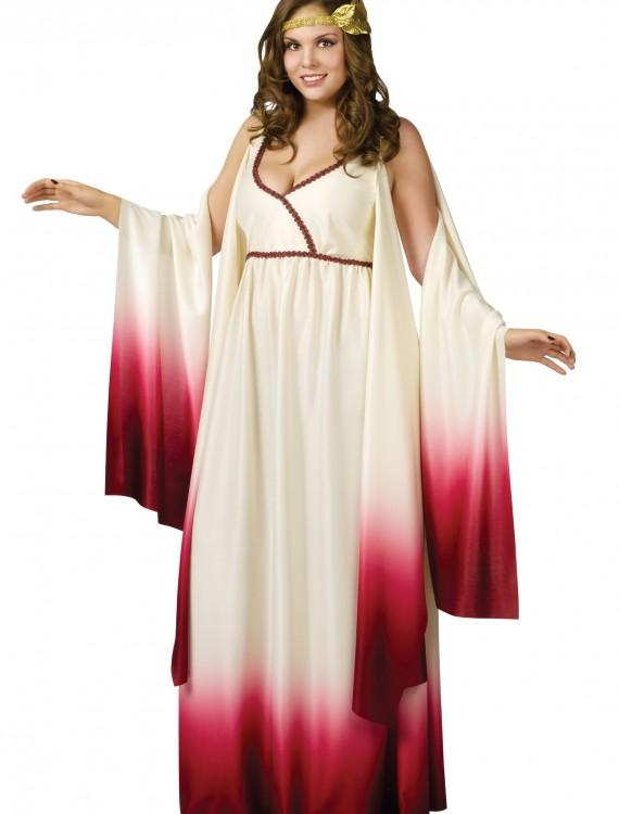 Plus Size Goddess of Love Costume, halloween costume (Plus Size Goddess of Love Costume)