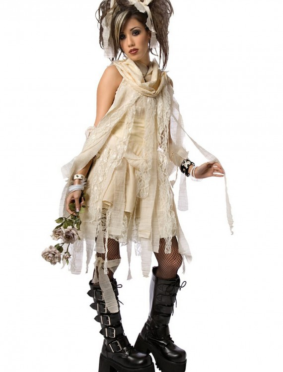 Plus Size Gothic Mummy Costume, halloween costume (Plus Size Gothic Mummy Costume)