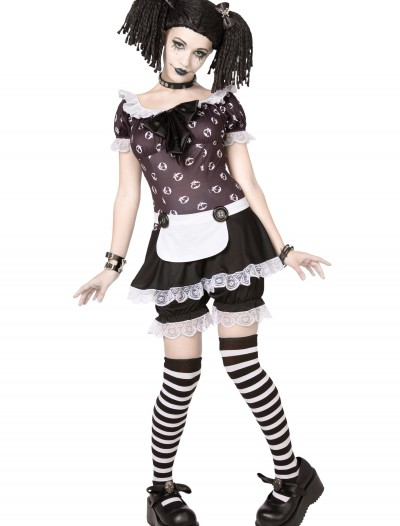 Plus Size Gothic Rag Doll Costume, halloween costume (Plus Size Gothic Rag Doll Costume)