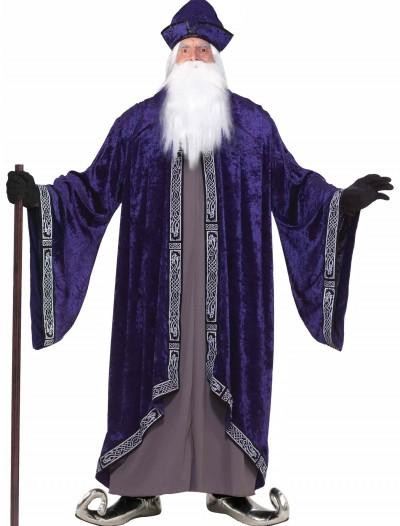 Plus Size Grand Wizard Costume, halloween costume (Plus Size Grand Wizard Costume)