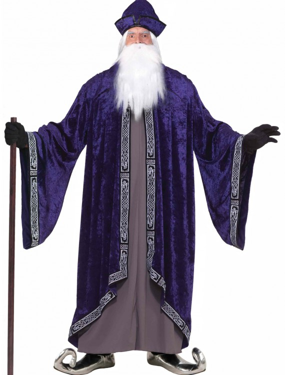 Plus Size Grand Wizard Costume, halloween costume (Plus Size Grand Wizard Costume)
