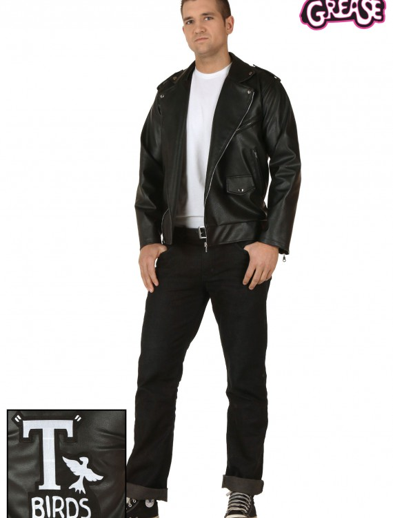 Plus Size Grease Authentic T-Birds Jacket, halloween costume (Plus Size Grease Authentic T-Birds Jacket)