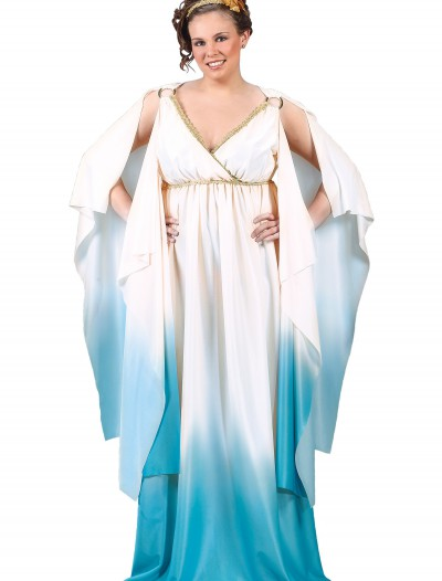 Plus Size Greek Goddess Costume, halloween costume (Plus Size Greek Goddess Costume)