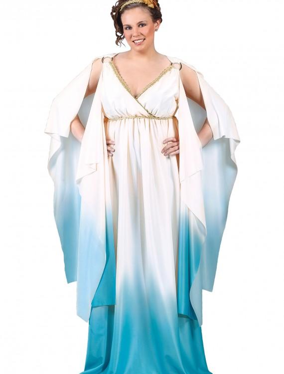 Plus Size Greek Goddess Costume, halloween costume (Plus Size Greek Goddess Costume)