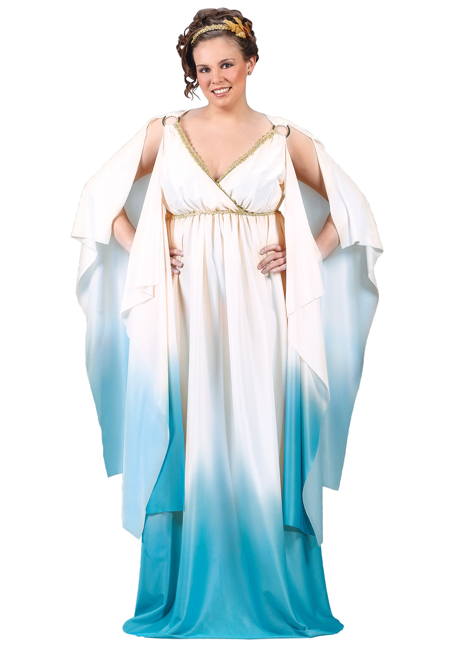 plus size greek goddess costume - halloween costumes