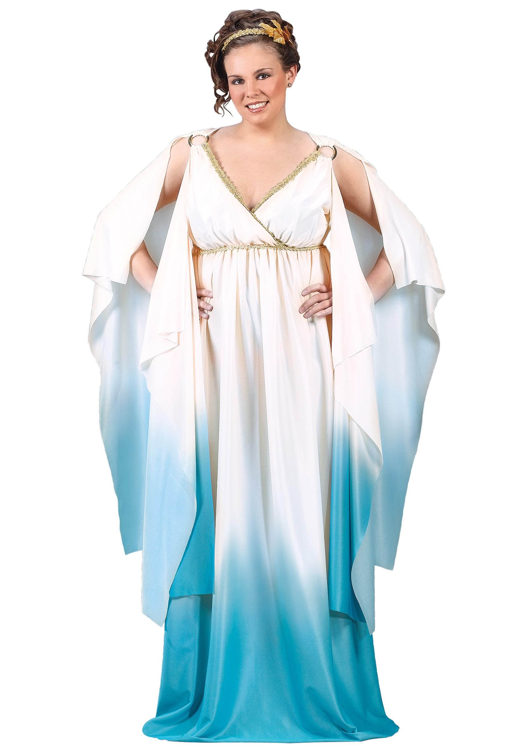 plus size greek goddess costume - halloween costumes