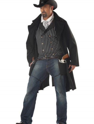 Plus Size Gunfighter Costume, halloween costume (Plus Size Gunfighter Costume)