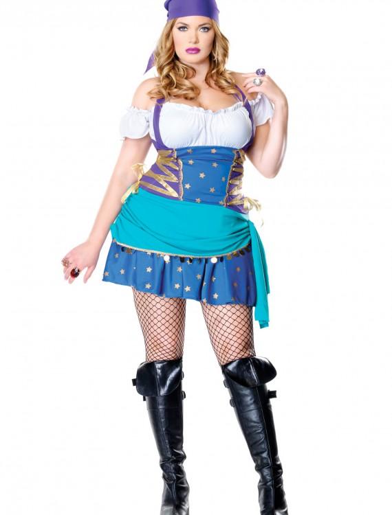 Plus Size Gypsy Costume, halloween costume (Plus Size Gypsy Costume)