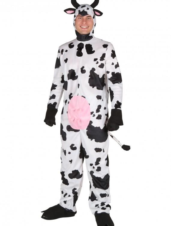 Plus Size Happy Cow Costume, halloween costume (Plus Size Happy Cow Costume)