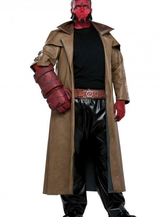 Plus Size Hellboy Costume, halloween costume (Plus Size Hellboy Costume)