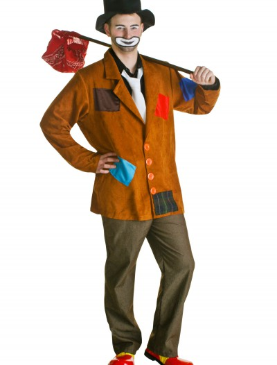Plus Size Hobo Clown Costume, halloween costume (Plus Size Hobo Clown Costume)