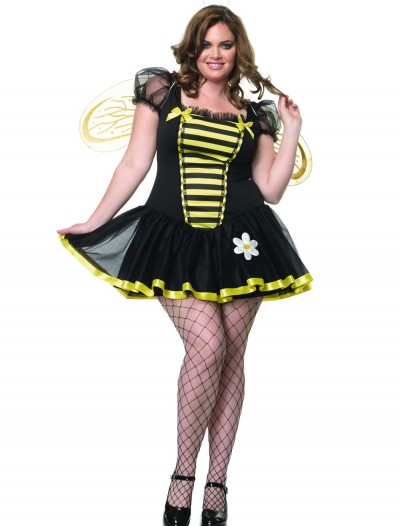 Plus Size Honey Bee Costume, halloween costume (Plus Size Honey Bee Costume)