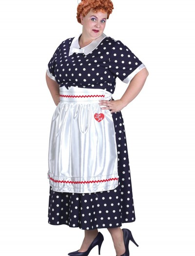 Plus Size I Love Lucy Costume, halloween costume (Plus Size I Love Lucy Costume)