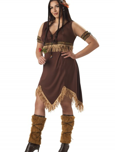 Plus Size Indian Princess Costume, halloween costume (Plus Size Indian Princess Costume)
