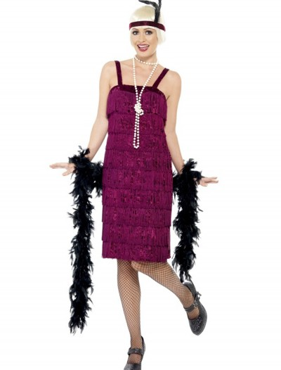 Plus Size Jazz Flapper Costume, halloween costume (Plus Size Jazz Flapper Costume)