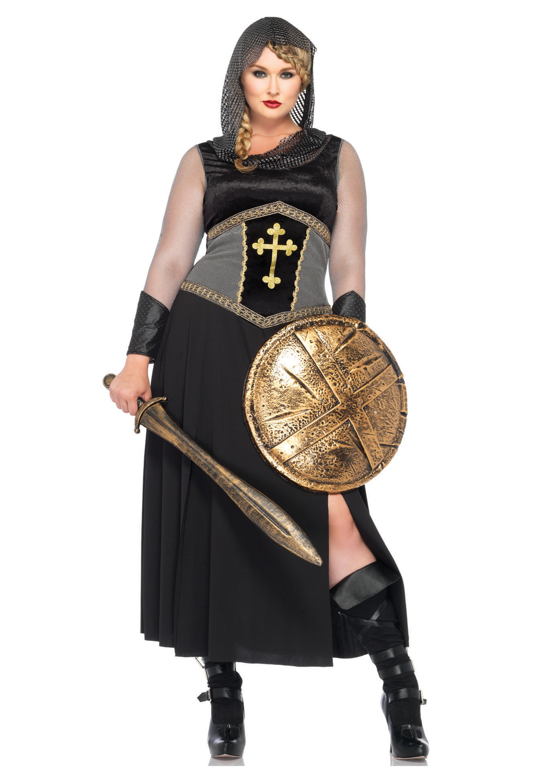 Plus Size Joan of Arc  sc 1 st  Halloween Costumes & Plus Size Joan of Arc - Halloween Costumes