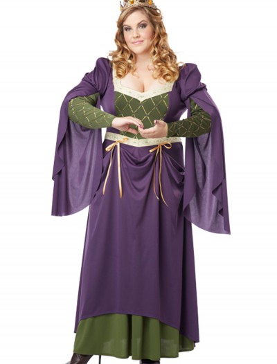 Plus Size Lady in Waiting Costume, halloween costume (Plus Size Lady in Waiting Costume)